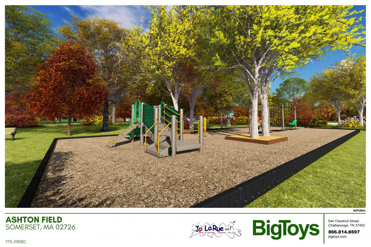 New Playground at Ashton Field being installed in November