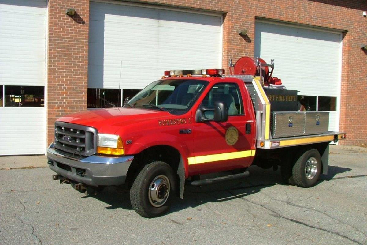 Forestry 1     2001 Ford F-350